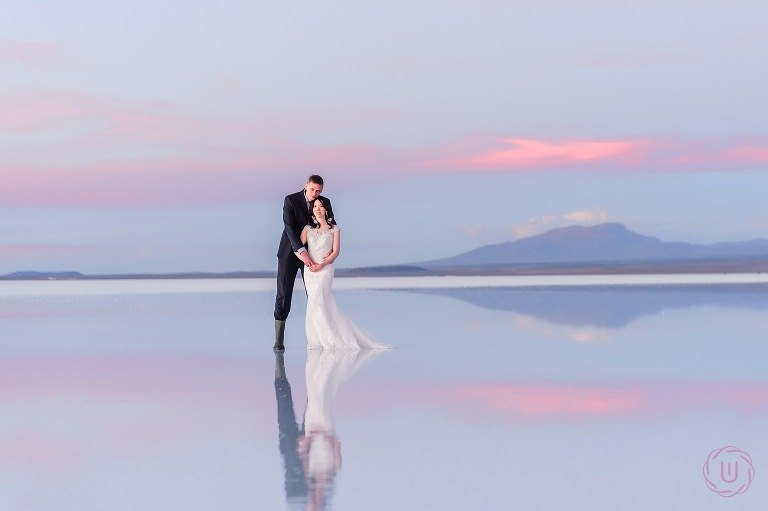 Photoshoot in Uyuni salt flats Bolivia